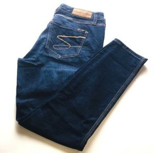 Seven 7 jeans Stretchy Skinny Size 10 med dark